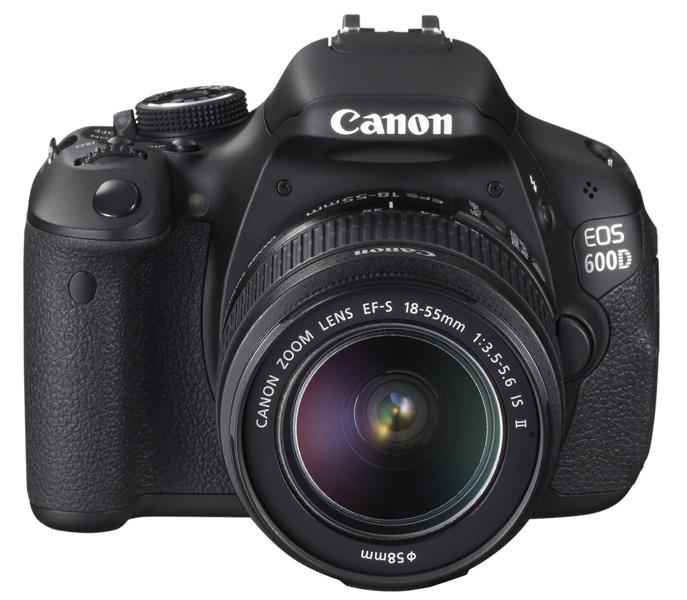 Canon-Spiegelreflexkamera-EOS-600D-inkl-EF-S-18-55mm-IS-II-Objektiv-18MP-Neu