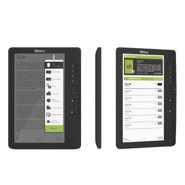 TrekStor-e-Book-Reader-3-0-7-TFT-Display-Bildbetrachter-MP3-Player