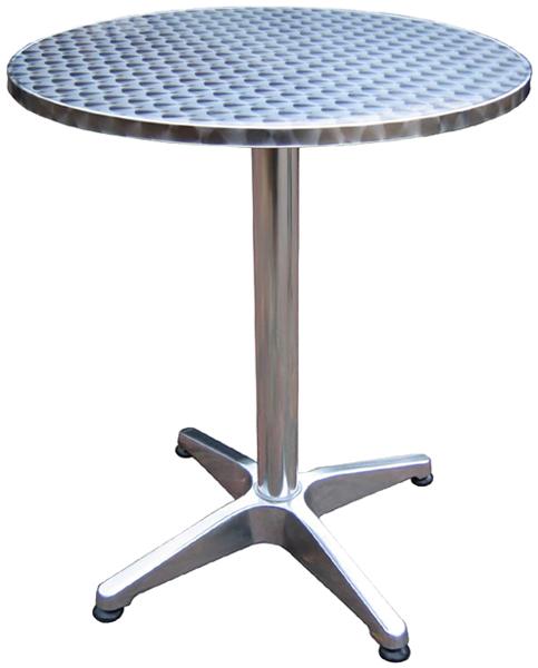 Aluminium-Bistro-Stehtisch-klappbar-hoehenverstellbar-NEU